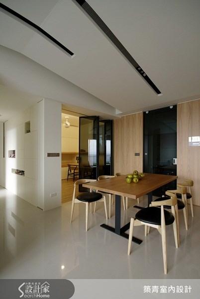 32坪預售屋_北歐風餐廳案例圖片_築青室內裝修有限公司_築青_06之8