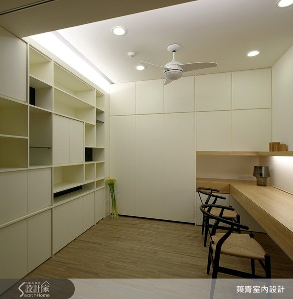 32坪預售屋_北歐風書房案例圖片_築青室內裝修有限公司_築青_06之11
