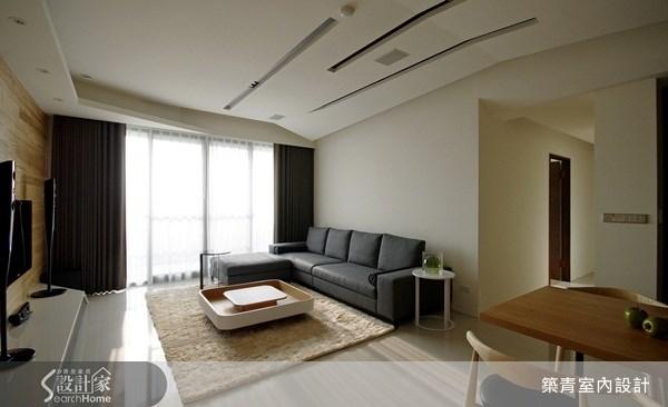 32坪預售屋_北歐風客廳案例圖片_築青室內裝修有限公司_築青_06之4