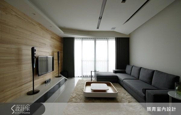 32坪預售屋_北歐風客廳案例圖片_築青室內裝修有限公司_築青_06之1