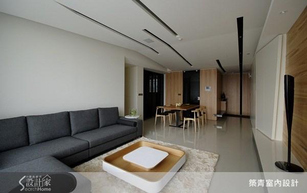 32坪預售屋_北歐風客廳案例圖片_築青室內裝修有限公司_築青_06之2