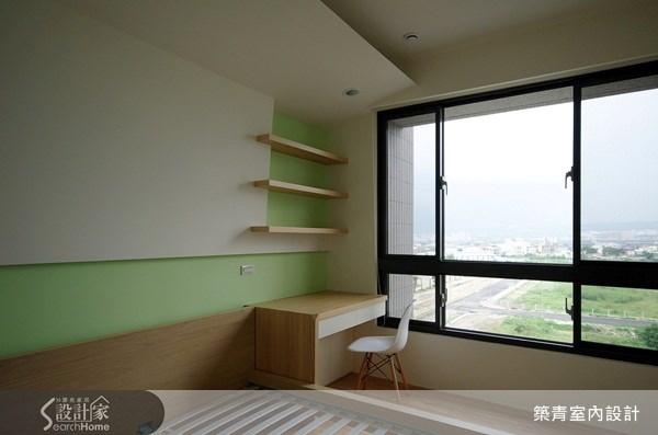 32坪預售屋_北歐風臥室案例圖片_築青室內裝修有限公司_築青_06之15
