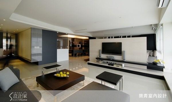 80坪新成屋(5年以下)_現代風客廳案例圖片_築青室內裝修有限公司_築青_07之3