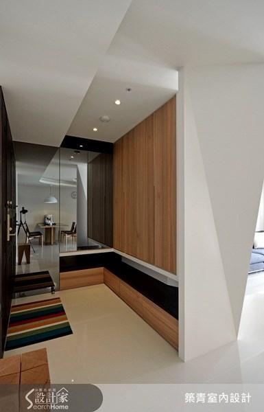 25坪預售屋_北歐風玄關案例圖片_築青室內裝修有限公司_築青_09之1