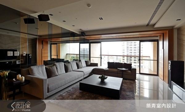 60坪新成屋(5年以下)_現代風客廳案例圖片_築青室內裝修有限公司_築青_10之4