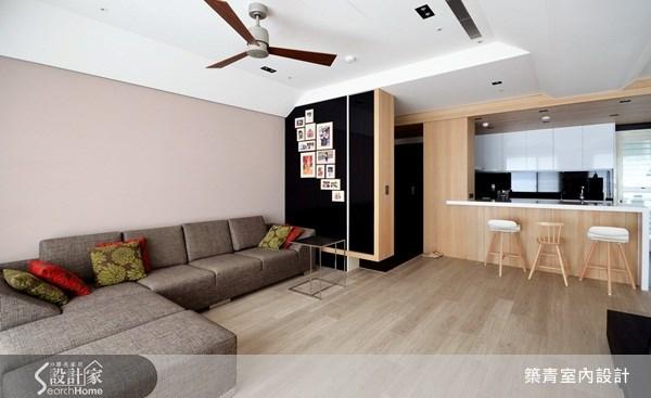 60坪預售屋_北歐風客廳案例圖片_築青室內裝修有限公司_築青_12之3