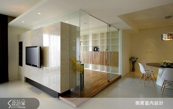 40坪預售屋_北歐風客廳案例圖片_築青室內裝修有限公司_築青_13之1