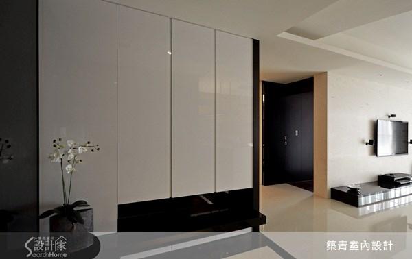 40坪預售屋_現代風玄關案例圖片_築青室內裝修有限公司_築青_15之1