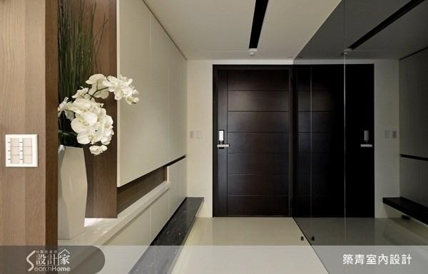 40坪預售屋_現代風玄關案例圖片_築青室內裝修有限公司_築青_16之1