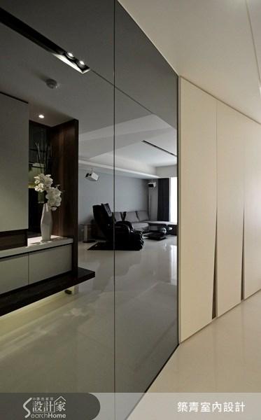 40坪預售屋_現代風走廊案例圖片_築青室內裝修有限公司_築青_16之3