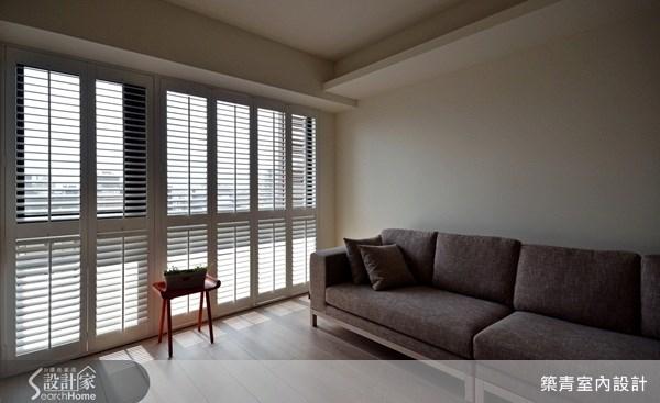 40坪預售屋_北歐風客廳案例圖片_築青室內裝修有限公司_築青_17之2