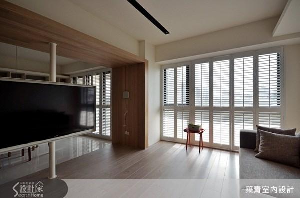 40坪預售屋_北歐風客廳案例圖片_築青室內裝修有限公司_築青_17之3