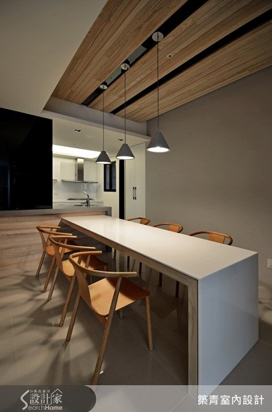 40坪預售屋_北歐風餐廳案例圖片_築青室內裝修有限公司_築青_18之4