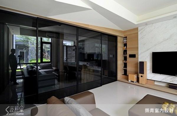60坪預售屋_現代風客廳案例圖片_築青室內裝修有限公司_築青_20之3