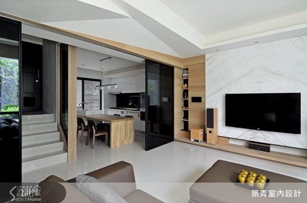 60坪預售屋_現代風客廳案例圖片_築青室內裝修有限公司_築青_20之4
