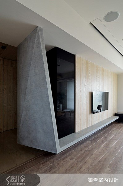 55坪預售屋_北歐風玄關案例圖片_築青室內裝修有限公司_築青_21之4