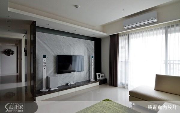 35坪預售屋_現代風客廳案例圖片_築青室內裝修有限公司_築青_22之4