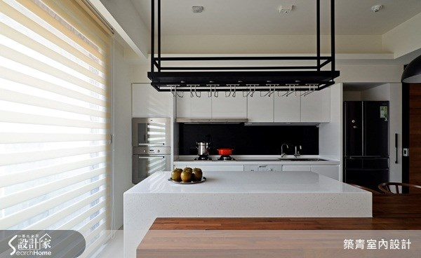 45坪預售屋_北歐風廚房案例圖片_築青室內裝修有限公司_築青_23之20