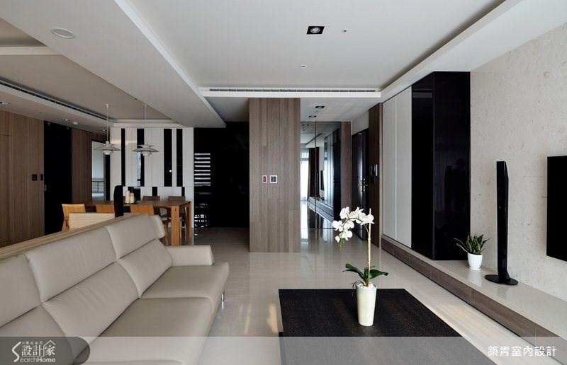 35坪預售屋_現代風客廳案例圖片_築青室內裝修有限公司_築青_24之2