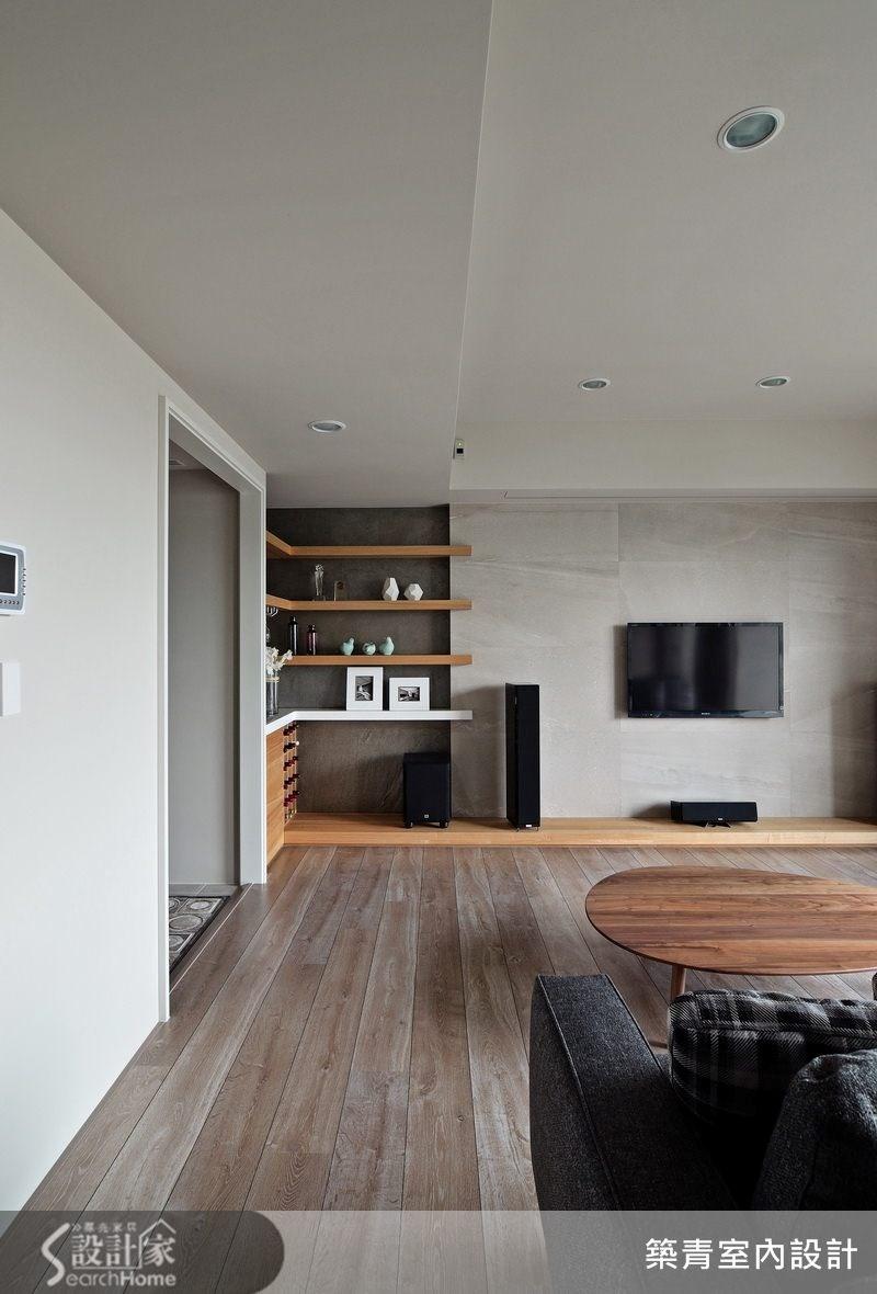 45坪預售屋_現代風客廳案例圖片_築青室內裝修有限公司_築青_27之2