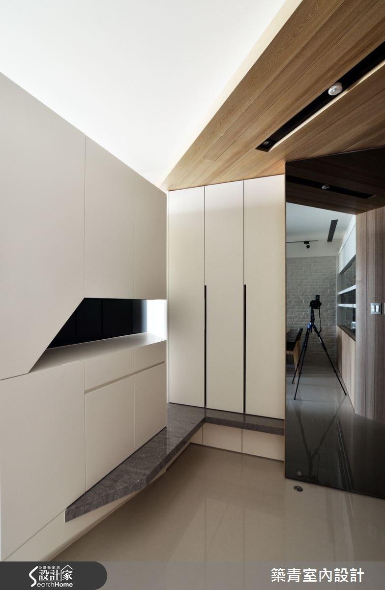 45坪預售屋_北歐風玄關案例圖片_築青室內裝修有限公司_築青_28之2