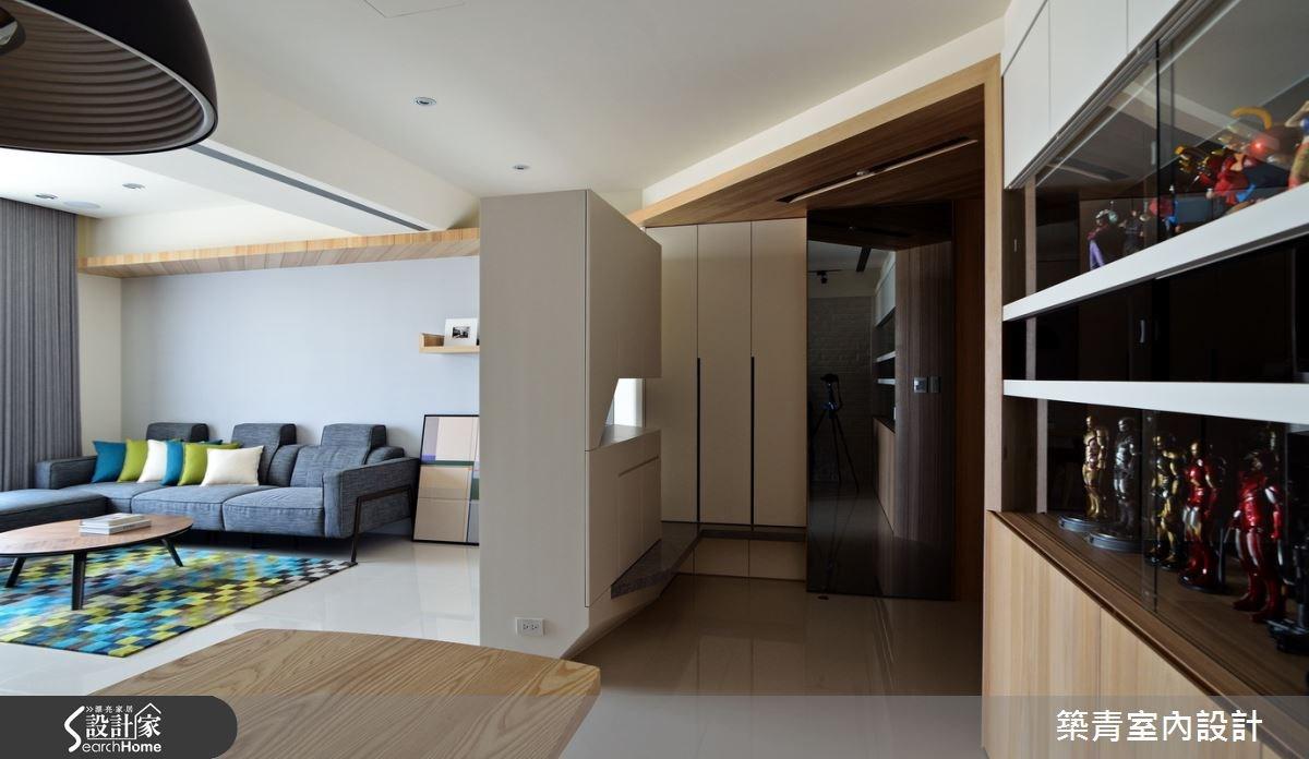 45坪預售屋_北歐風客廳案例圖片_築青室內裝修有限公司_築青_28之4