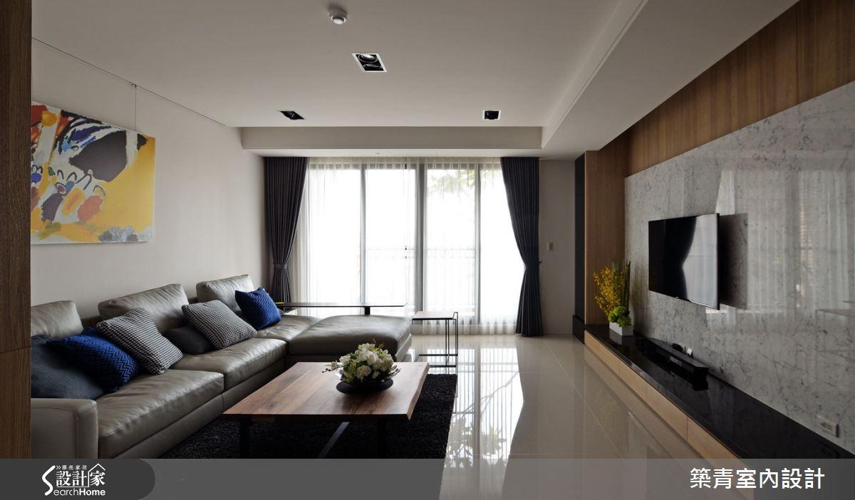 45 坪好清新居宅 機能美感都滿分