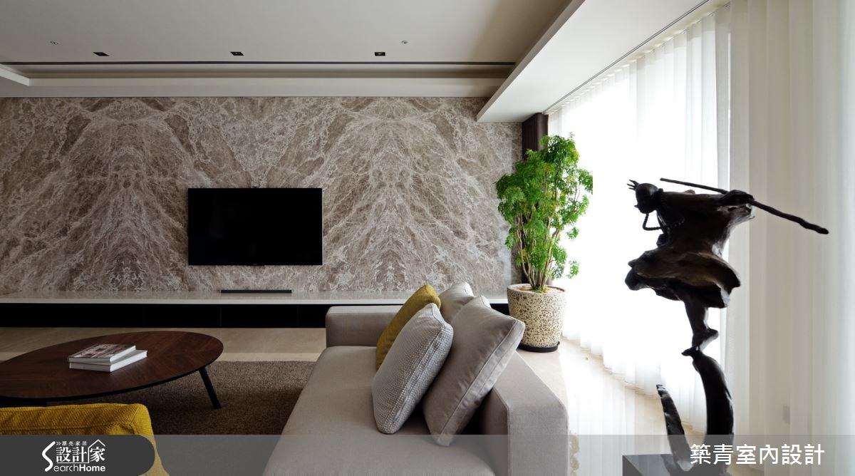 100坪預售屋_現代風客廳案例圖片_築青室內裝修有限公司_築青_30之6