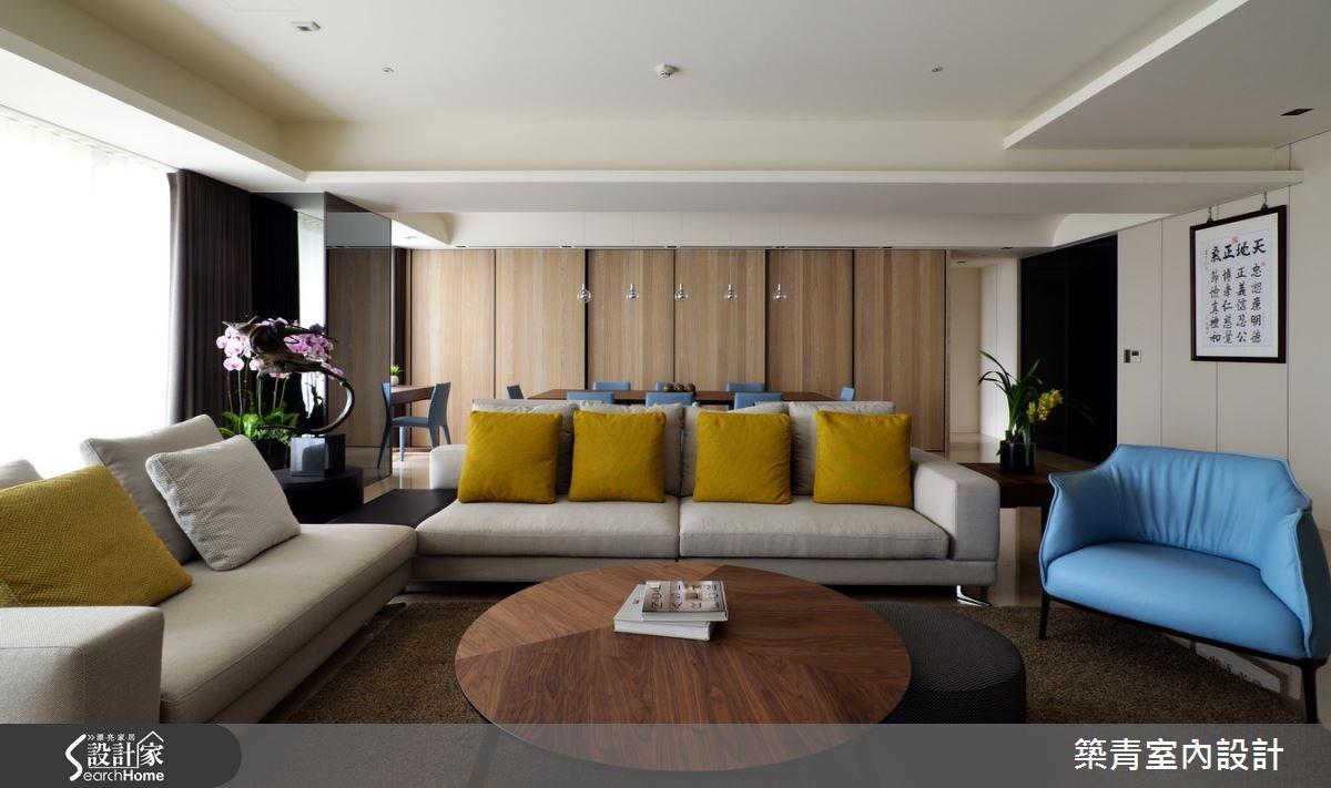 100坪預售屋_現代風客廳案例圖片_築青室內裝修有限公司_築青_30之8