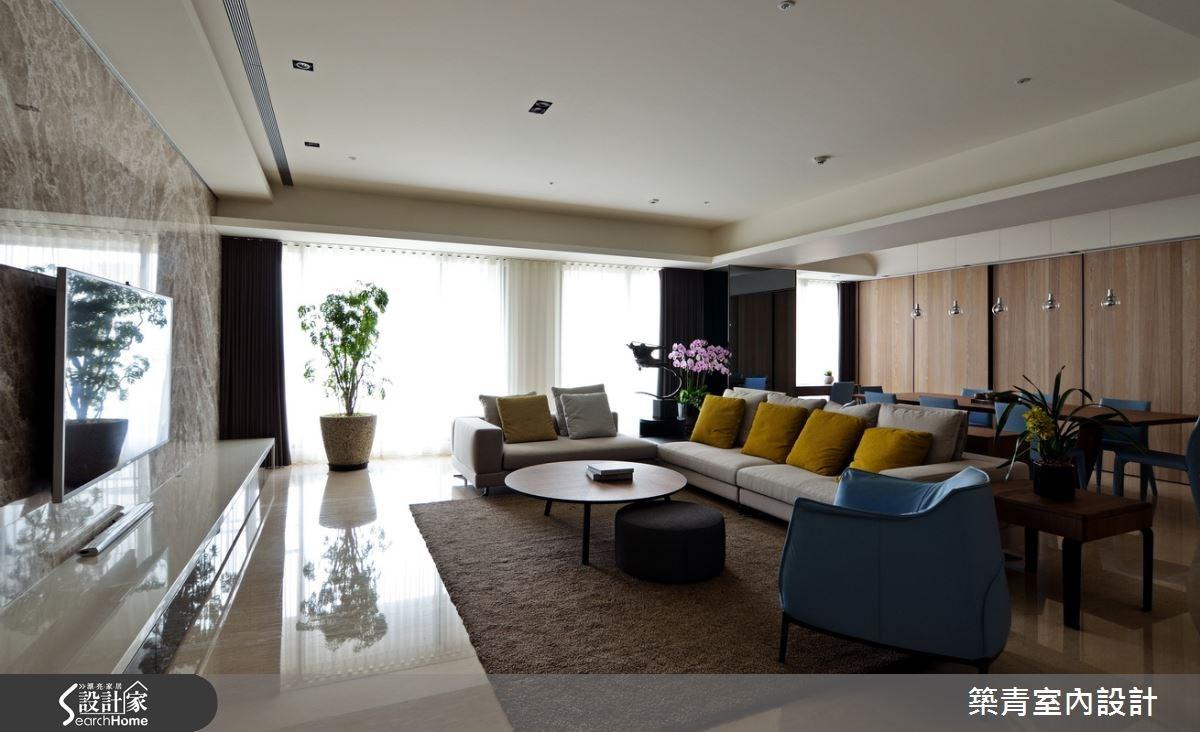 100坪預售屋_現代風客廳案例圖片_築青室內裝修有限公司_築青_30之10