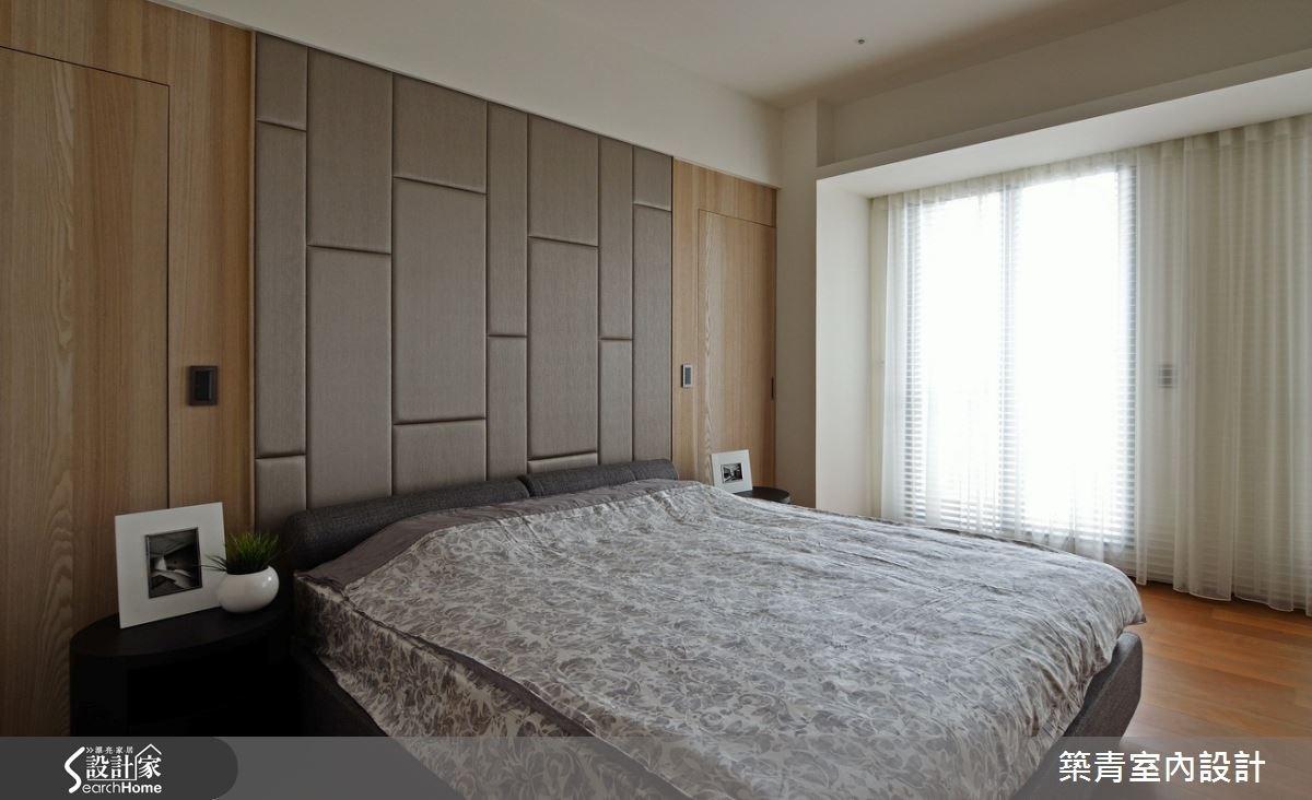 100坪預售屋_現代風臥室案例圖片_築青室內裝修有限公司_築青_30之16