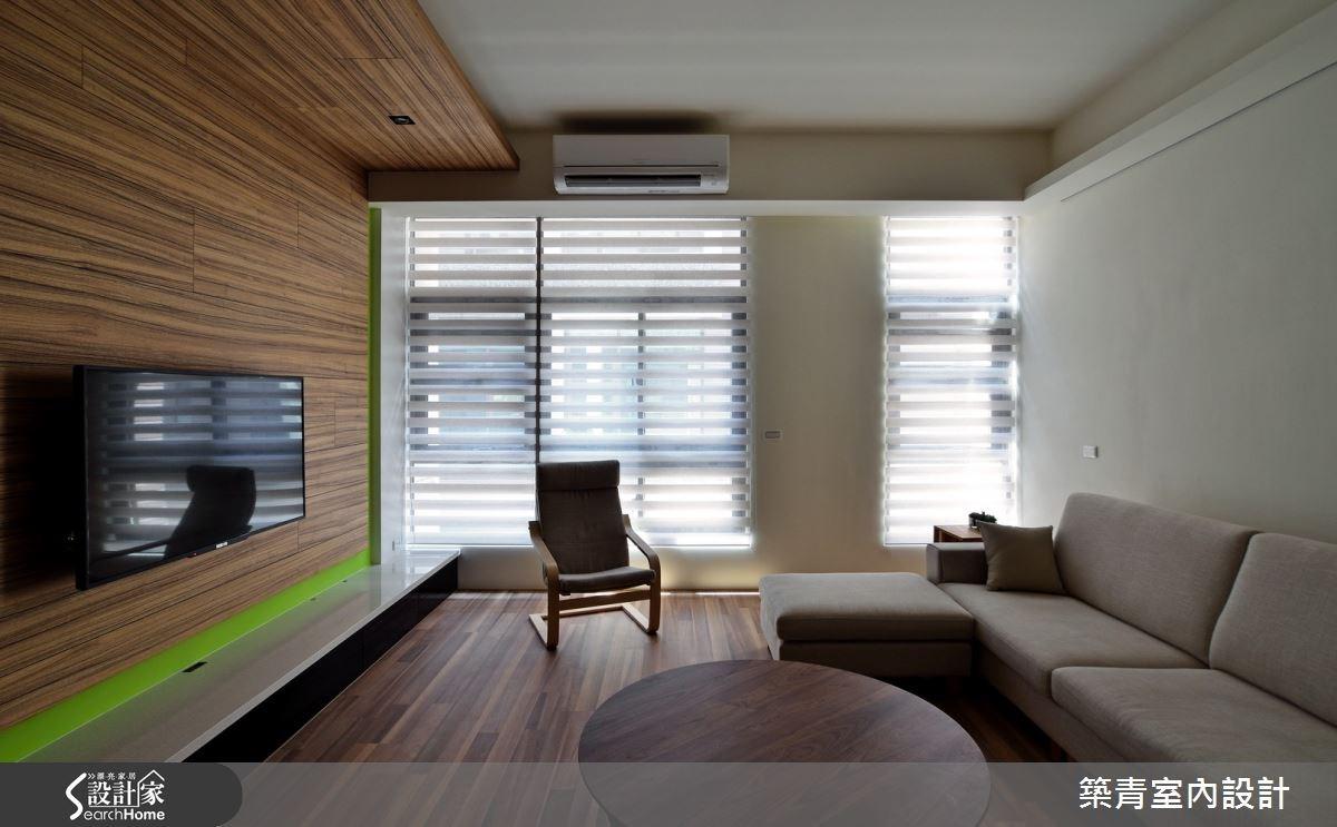 60坪預售屋_北歐風客廳案例圖片_築青室內裝修有限公司_築青_31之2