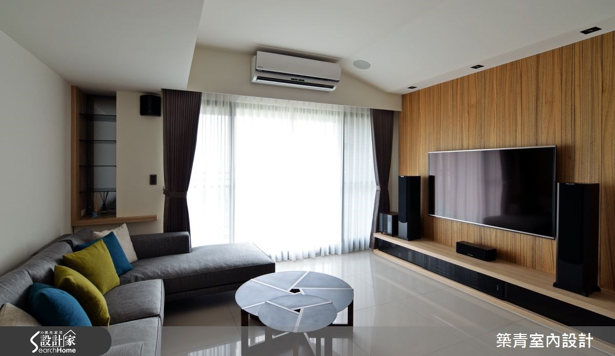 45坪預售屋_北歐風客廳案例圖片_築青室內裝修有限公司_築青_32之3