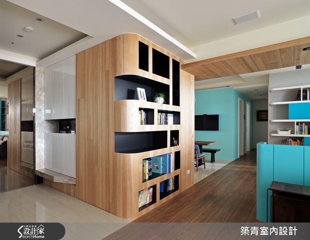 45坪預售屋_北歐風玄關案例圖片_築青室內裝修有限公司_築青_33之1