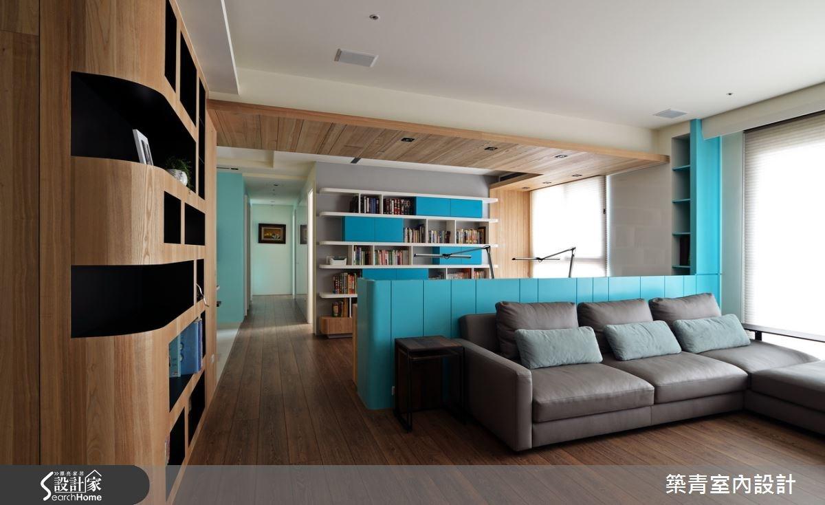 45坪預售屋_北歐風客廳案例圖片_築青室內裝修有限公司_築青_33之3