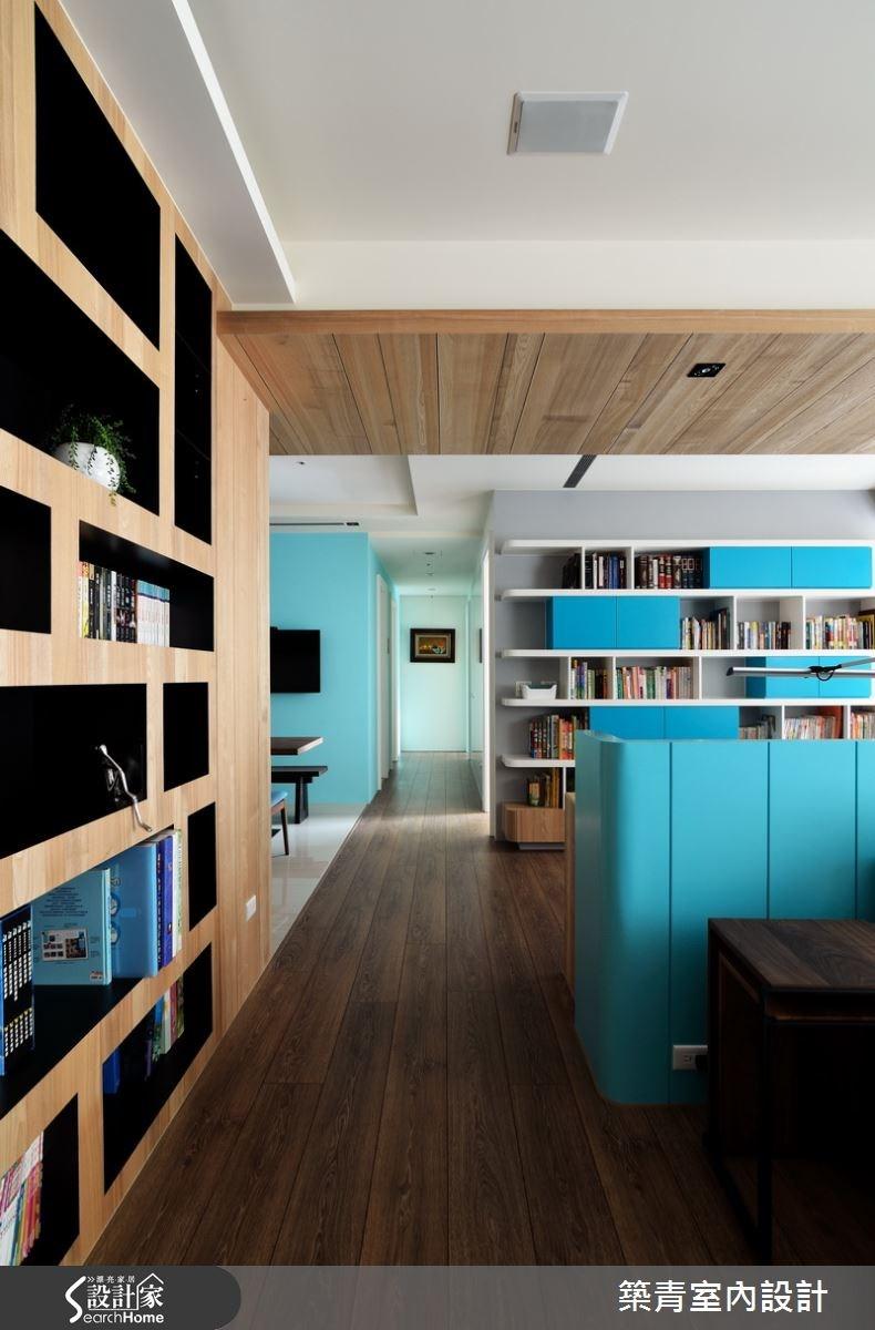45坪預售屋_北歐風客廳案例圖片_築青室內裝修有限公司_築青_33之4