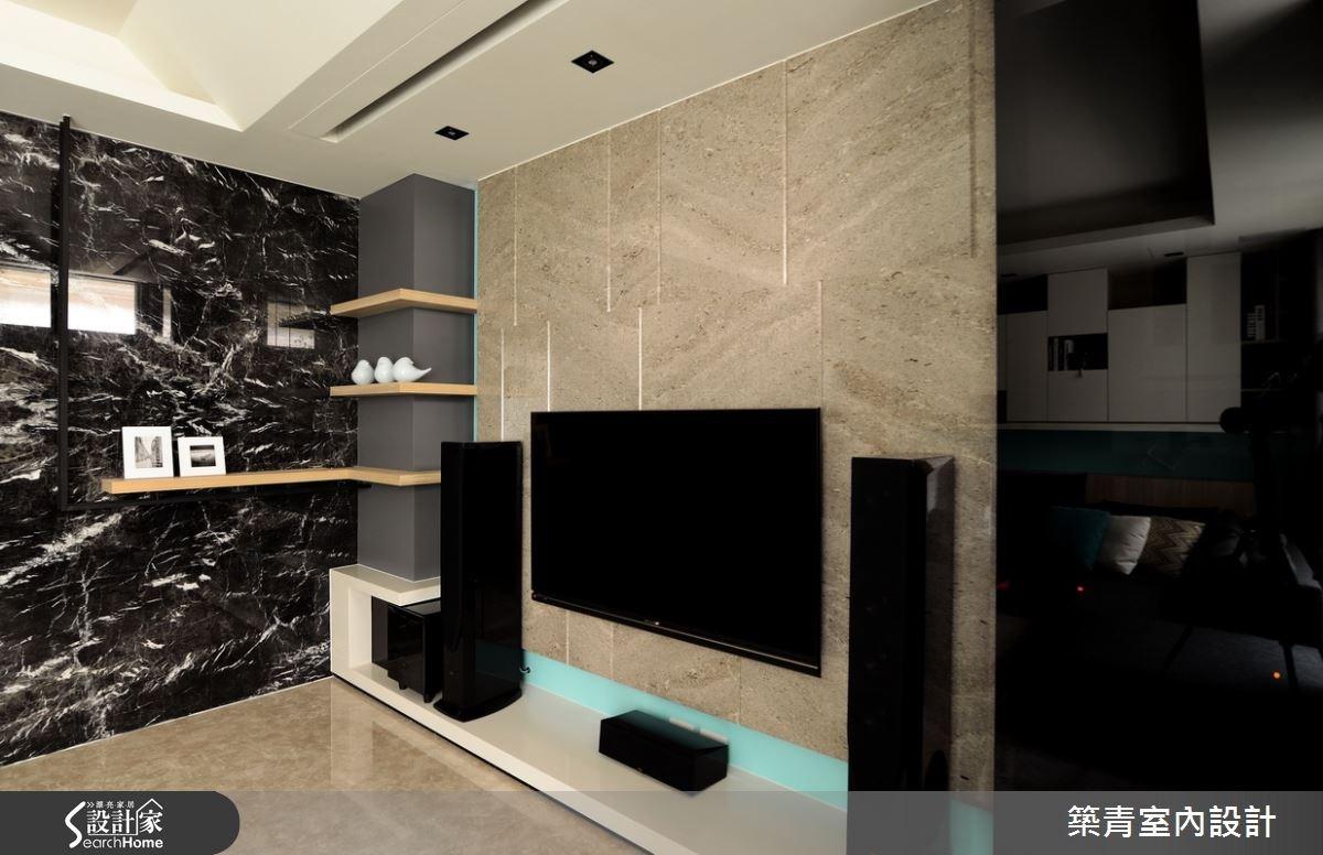 90坪預售屋_北歐風客廳案例圖片_築青室內裝修有限公司_築青_36之3