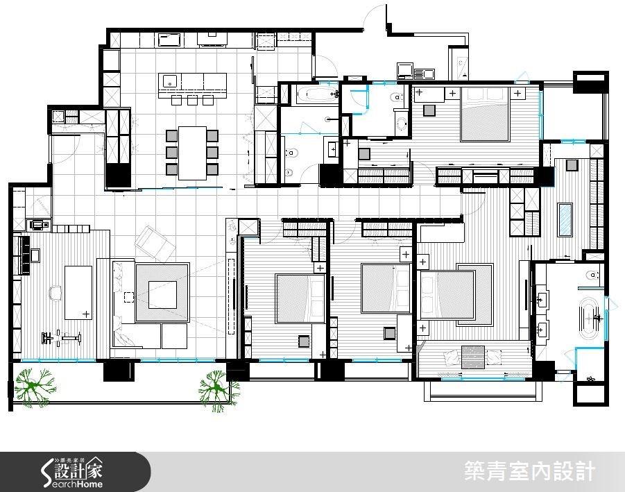 80坪新成屋(5年以下)_北歐風案例圖片_築青室內裝修有限公司_築青_37之31