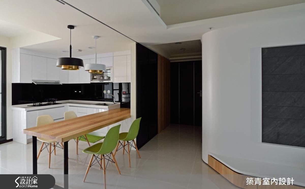 45坪預售屋_北歐風餐廳案例圖片_築青室內裝修有限公司_築青_40之1