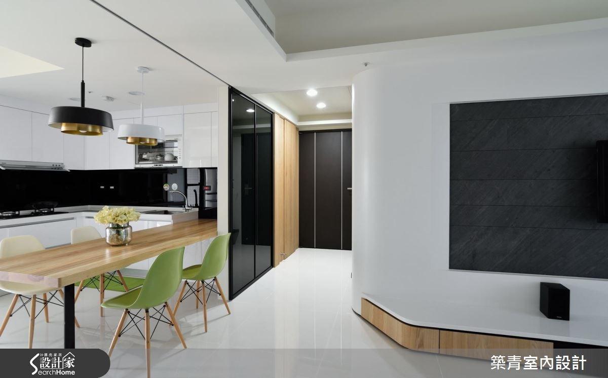 45坪預售屋_北歐風餐廳案例圖片_築青室內裝修有限公司_築青_40之2