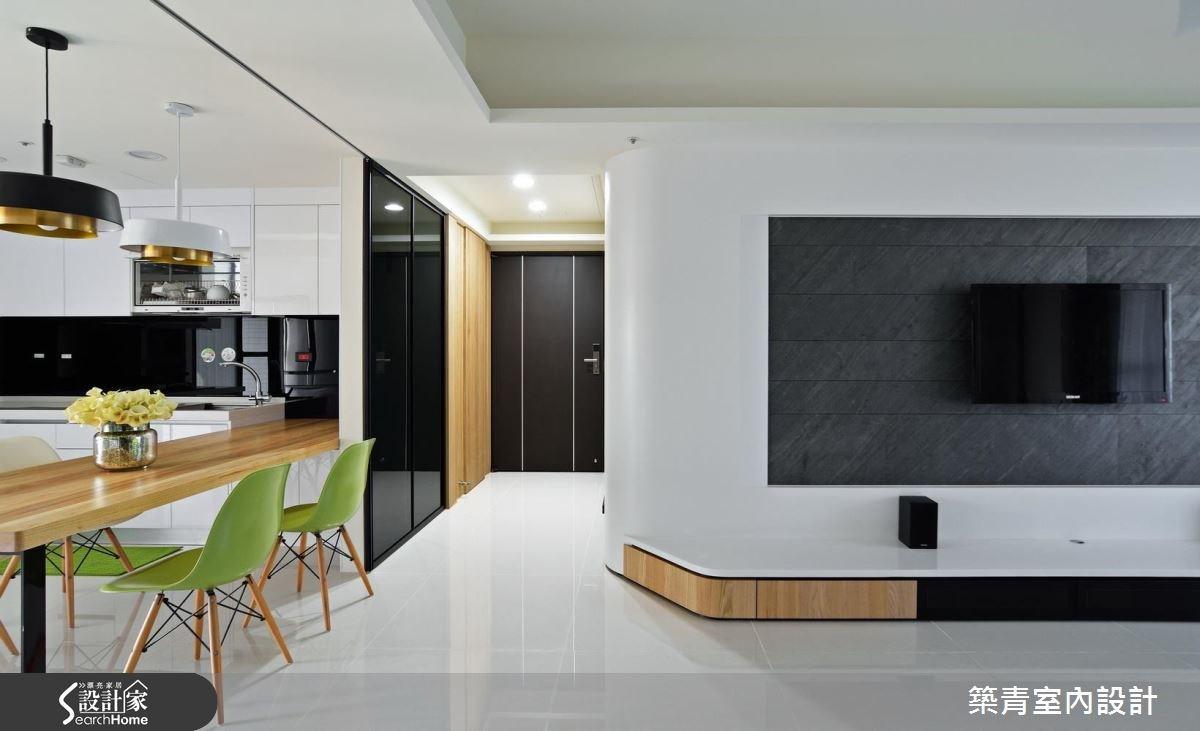 45坪預售屋_北歐風餐廳案例圖片_築青室內裝修有限公司_築青_40之3