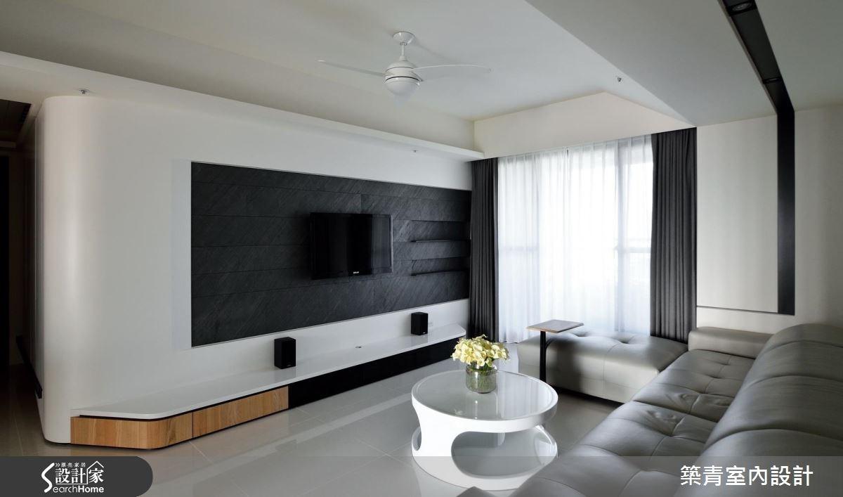45坪預售屋_北歐風客廳案例圖片_築青室內裝修有限公司_築青_40之4