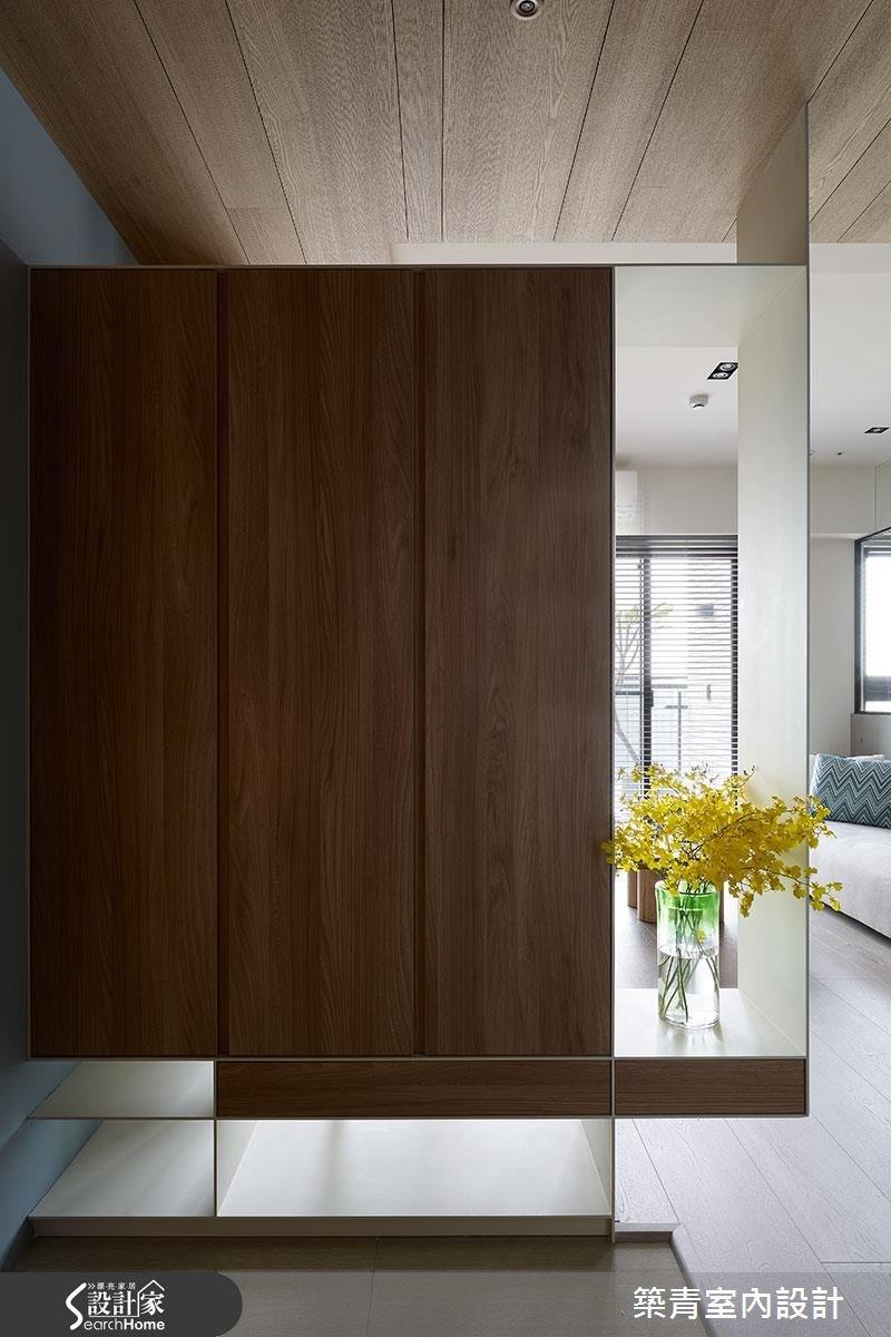 45坪預售屋_現代風玄關案例圖片_築青室內裝修有限公司_築青_41之1