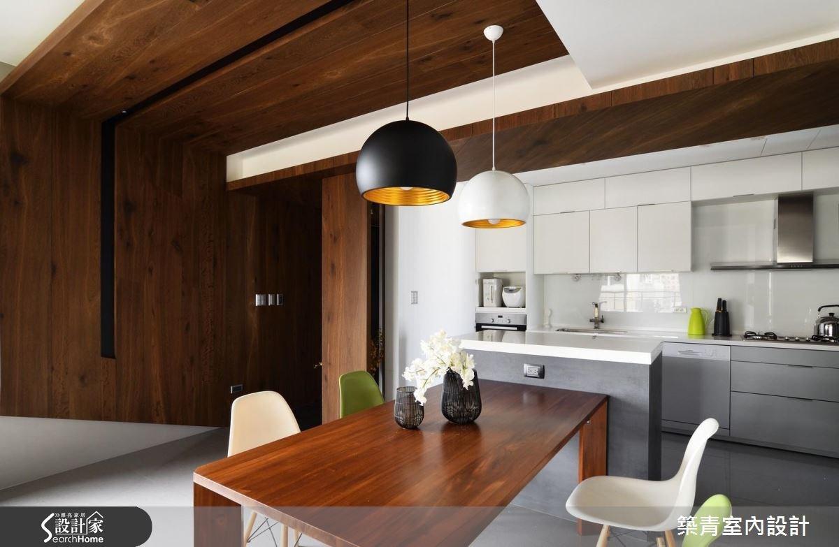 40坪預售屋_北歐風餐廳案例圖片_築青室內裝修有限公司_築青_42之3