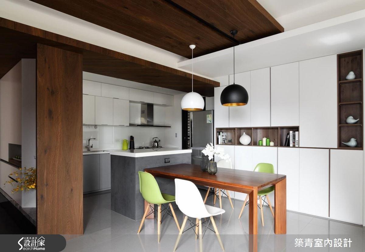 40坪預售屋_北歐風餐廳案例圖片_築青室內裝修有限公司_築青_42之4