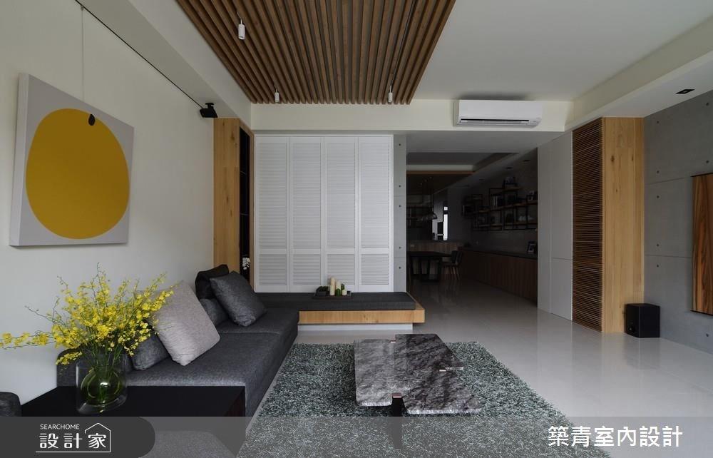 90坪新成屋(5年以下)_現代風客廳餐廳案例圖片_築青室內裝修有限公司_築青_44之5