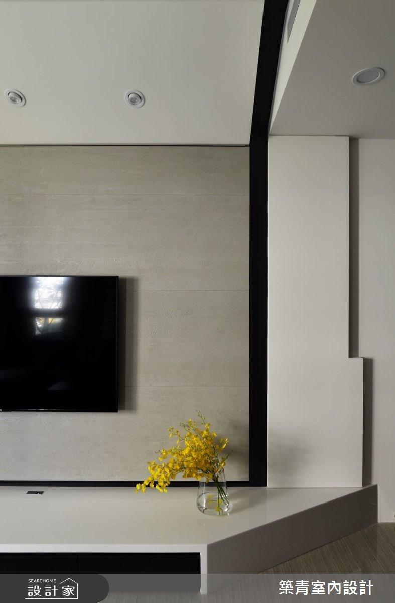 45坪預售屋_混搭風客廳案例圖片_築青室內裝修有限公司_築青_45之2