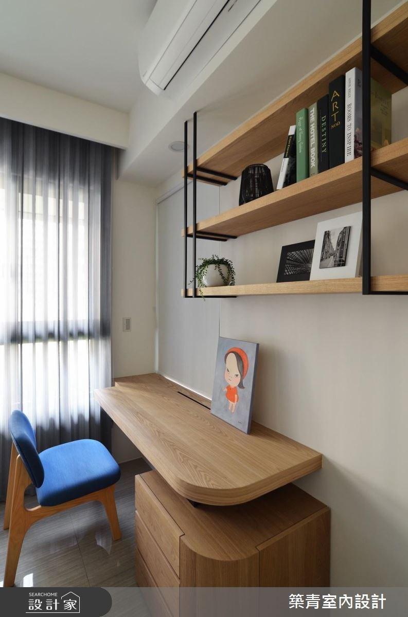 45坪預售屋_混搭風臥室案例圖片_築青室內裝修有限公司_築青_45之16
