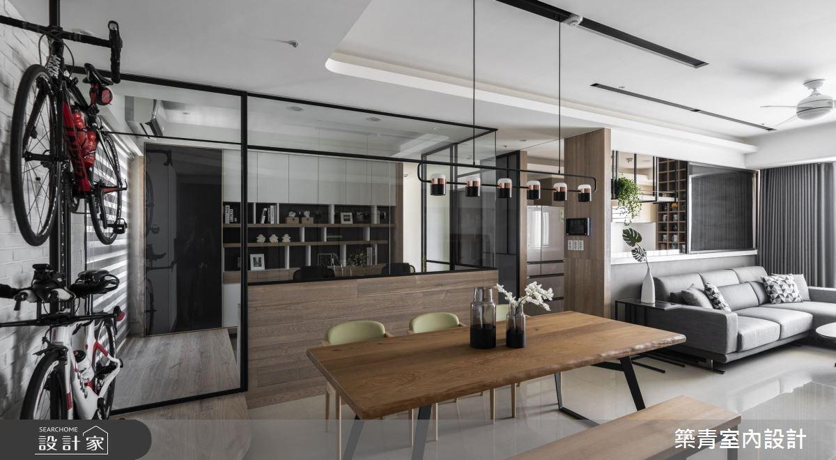 40坪預售屋_現代風餐廳案例圖片_築青室內裝修有限公司_築青_50之3