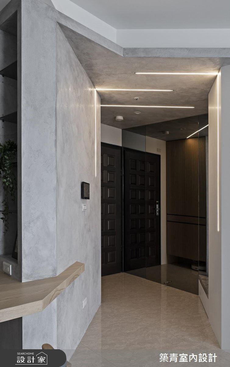 40坪預售屋_北歐風玄關案例圖片_築青室內裝修有限公司_築青_53之2